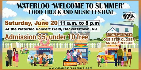Waterloo 'Welcome to Summer' Food Truck and Music Festival tickets