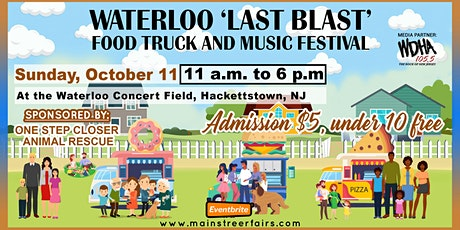 Waterloo 'Last Blast' Food Truck and Music Festival tickets
