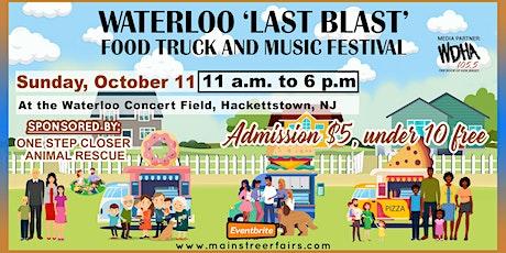 Waterloo 'Last Blast' Food Truck and Music Festival tickets