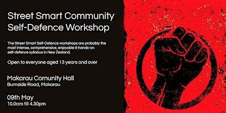Street Smart Community Self-Defence Workshop - Makarau May 2020 tickets