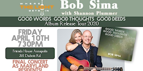 Annapolis MD: Virtual CD Release & Farewell Concert tickets
