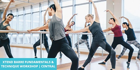 Xtend Barre Fundamentals & Technique Workshop w/ Anna | Central tickets