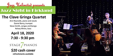 Jazz Unlimited presents the Clave Gringa Quartet in concert tickets