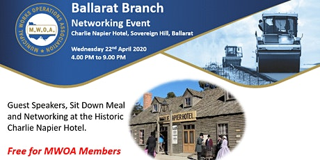 MWOA Ballarat Networking Event tickets