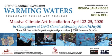 Warming Waters Earth Day Livestream Art Event tickets