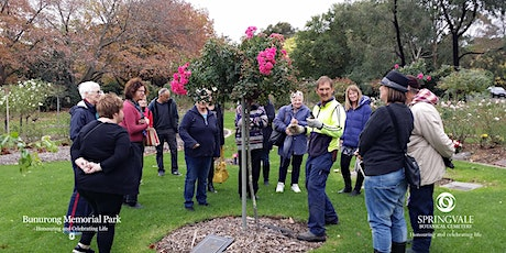 Free Rose Pruning Demonstrations at Bunurong Memorial Park tickets