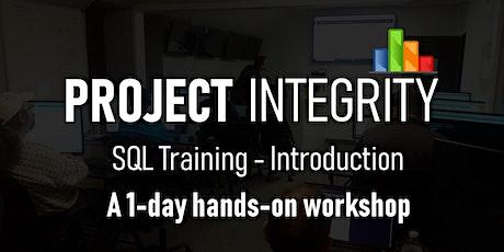 SQL Training – Introduction - IT Training Workshop tickets