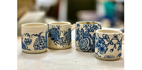 Paper transfer on pottery! (08-07-2020 starts at 12:00 AM) tickets