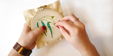 Beginners Hand Embroidery Workshop with Emma from Yarn Industries tickets