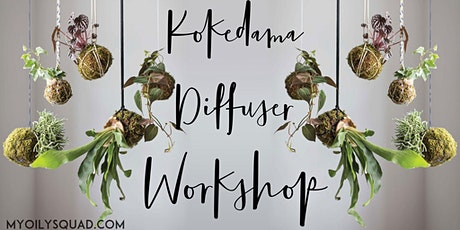 Kokedama Diffuser Workshop tickets