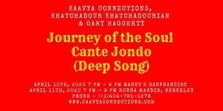 Cante Jondo - A Poetic Musical Show (SF) tickets