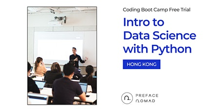 [SALES ENDED] Intro to Data Science with Python | Coding Boot Camp Free Trial | Hong Kong tickets