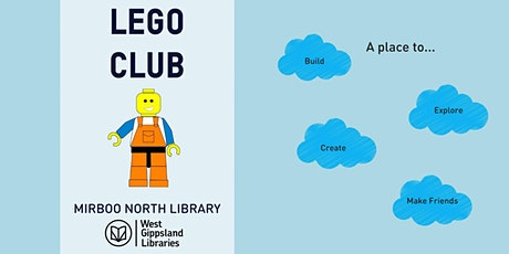 CANCELLED Lego Club at the Library tickets