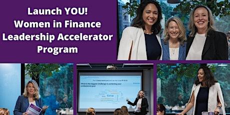 Launch YOU! Women in Finance Leadership Accelerator Program April tickets