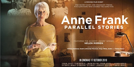 Anne Frank: Parallel Stories - Encore Screening - Wed 8th Apr - Canberra tickets