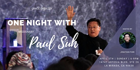 [POSTPONED]One Night With Missionary Paul Suh tickets