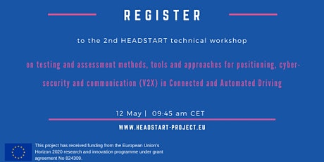 2nd HEADSTART Technical Workshop  tickets