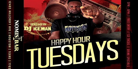 Happy Hour on Tuesdays with DJ Iceman tickets