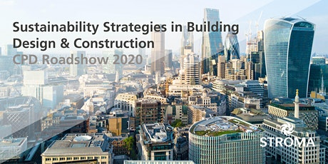 Sustainability Strategies in Building Design & Construction CPD tickets