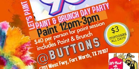 Everybody Loves The 90's Paint N Sip tickets