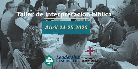 Taller de Interpretación Biblica boletos