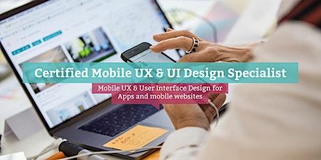 Certified Mobile UX & UI Design Specialist (engl.), Berlin tickets