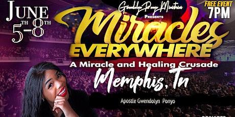 Healing and Miracle Crusade tickets