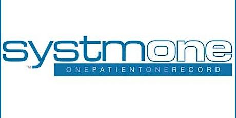 SystmOne Refresher Training tickets