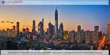 buildingSMART pre-summit tickets