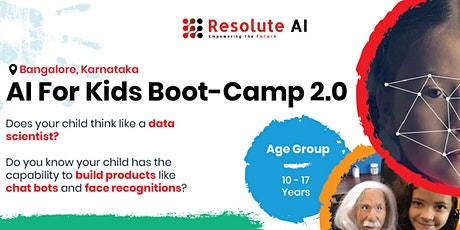 Artificial Intelligence for Kids Bootcamp 2.0 tickets
