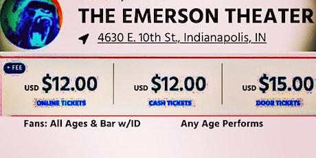 Gooph @ The Emerson Theater tickets
