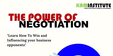 The Power of Negotiation tickets