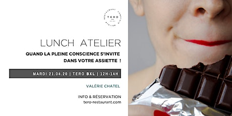 LUNCH ATELIER _ Mindful eating _Spring Bxl tickets