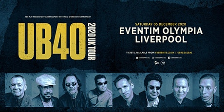 UB40 2020 (Olympia, Liverpool) tickets
