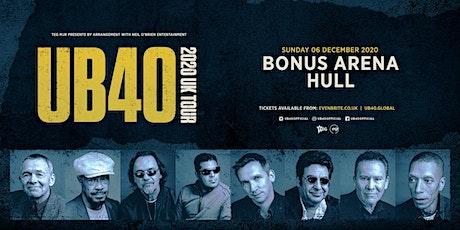 UB40 2020 (Bonus Arena, Hull) tickets