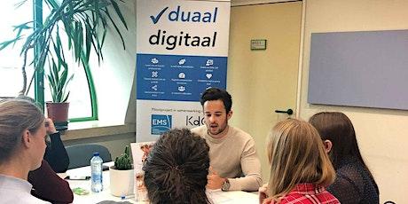 Duaal digitaal - infomoment voor bedrijven tickets