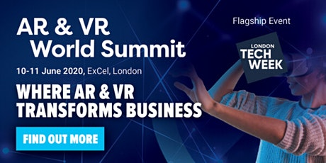 AR & VR World Summit tickets