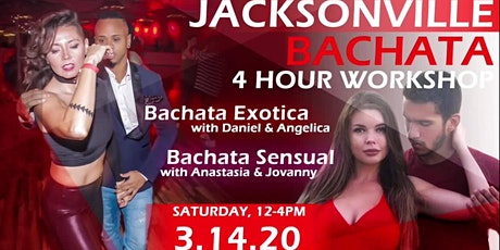 4 Hour Bachata Workshop Jacksonville tickets