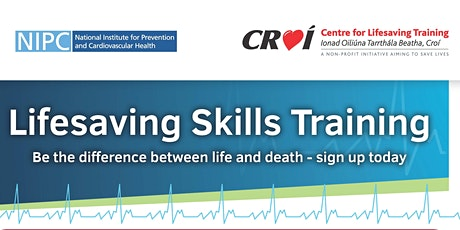 Cardiac First Responder Training - Tuesday 21st April 2020 tickets