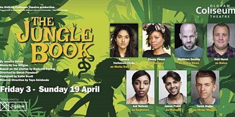 Henshaws  Oldham Children and Families Jungle Book at Oldham Coliseum tickets