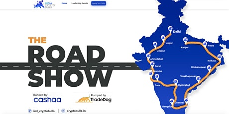 India Crypto Bulls - The Longest Crypto Roadshows Across India tickets
