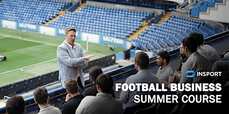 InSport Education Football Business Summer Course tickets