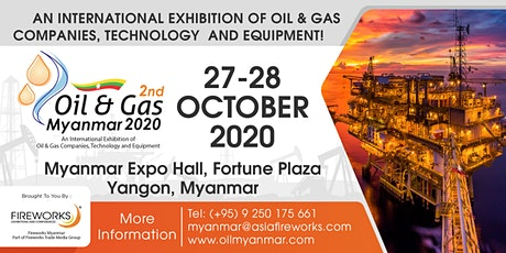 Oil & Gas Myanmar (OGAM) 2020 tickets