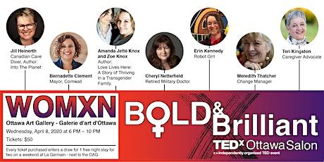 TEDxOttawaSalon:  BOLD & BRILLIANT tickets