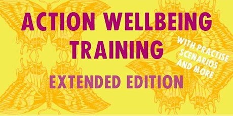 XR Action Wellbeing Training tickets