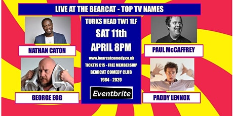 Bearcat Comedy at the Turks Head tickets