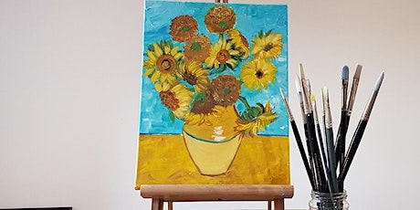 'Sunflower' painting workshop - fun & unwind for all abilities tickets
