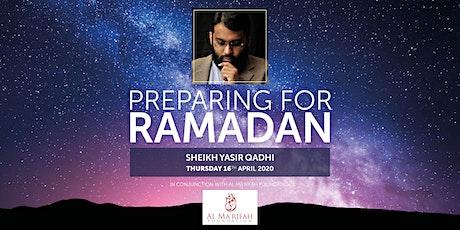 Preparing for Ramadan tickets