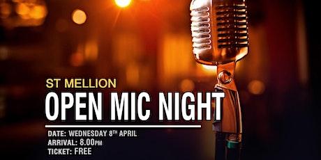 St Mellion Open Mic Night tickets