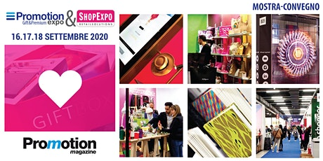 PROMOTION EXPO e SHOPEXPO 2020 - Registrazione Visitatori e Stampa tickets